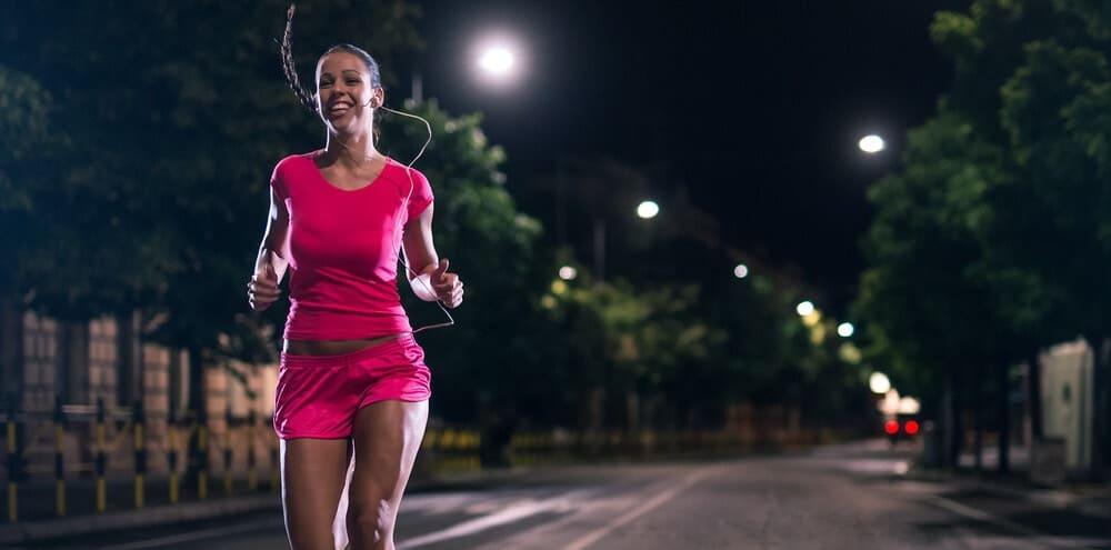 Consejos para correr por la noche